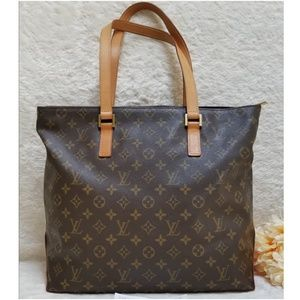 Louis Vuitton Cabas Mezzo Tote Bag Monogram